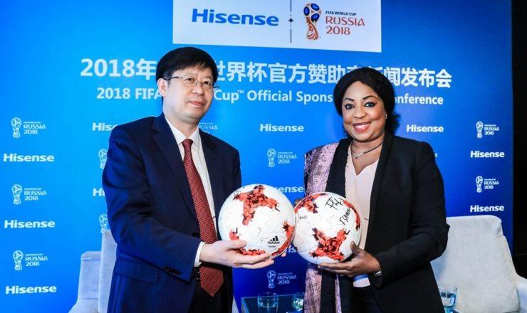 A Hisense torna-se no Patrocinador Oficial do Campeonato do Mundo da FIFA Rússia 2018