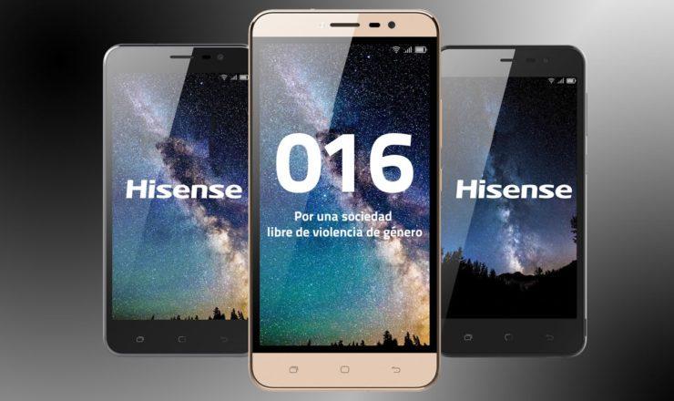 O 016 já não deixa rasto nos telemóveis Hisense