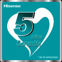 5 Anos de garantia no compressor*