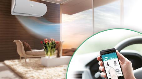 Controlo Inteligente WiFi & APP Hisense Hi-Smart Life