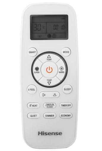 Controle remoto com temporizador 24H e display LED