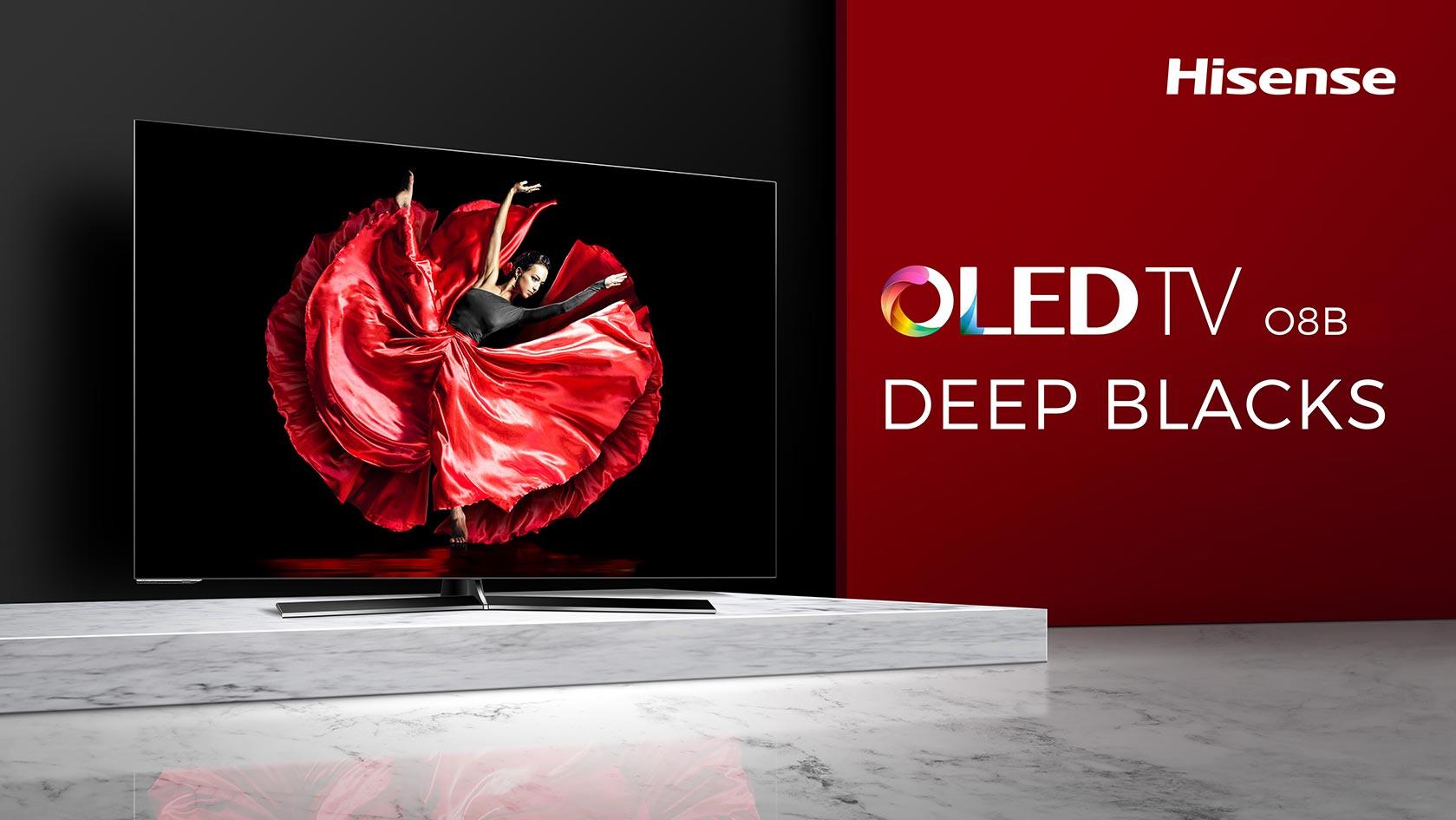 OLED TV H55O8B  55″