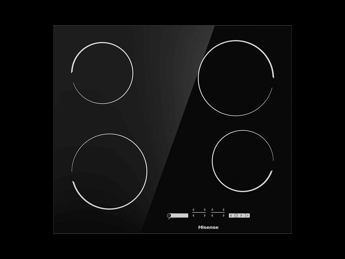 Placa de vitrocerâmica E6431C