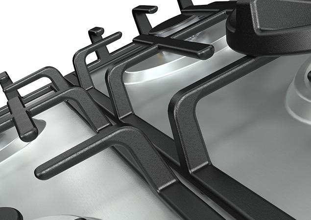Placa de gás GM663X