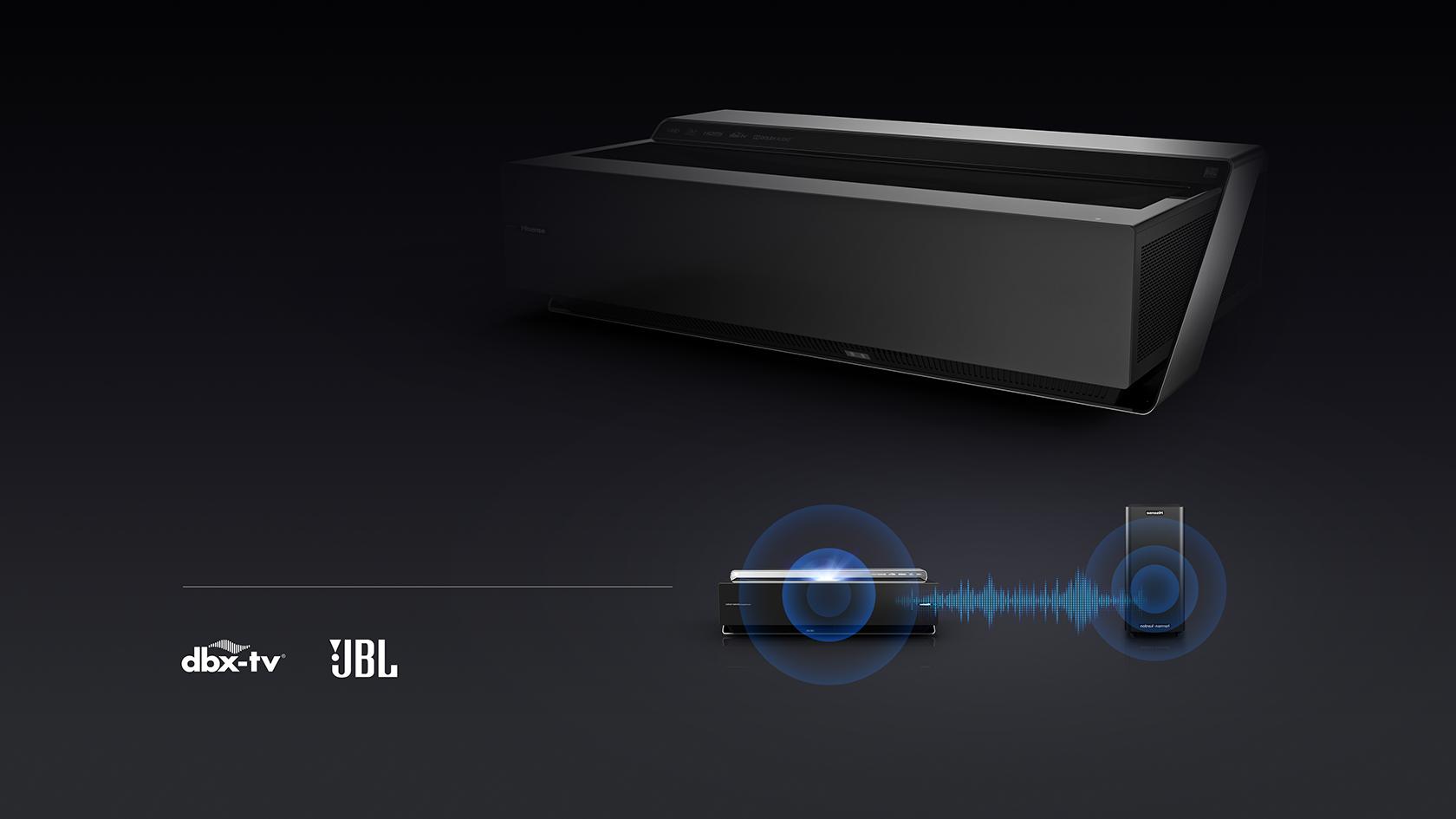 Laser TV H100LDA