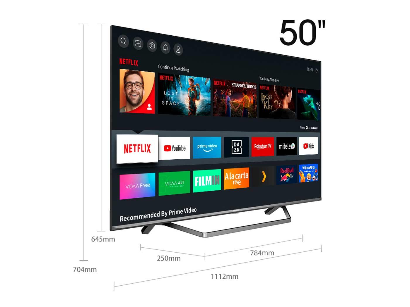 ULED TV ULED TV 50U7QF 50″