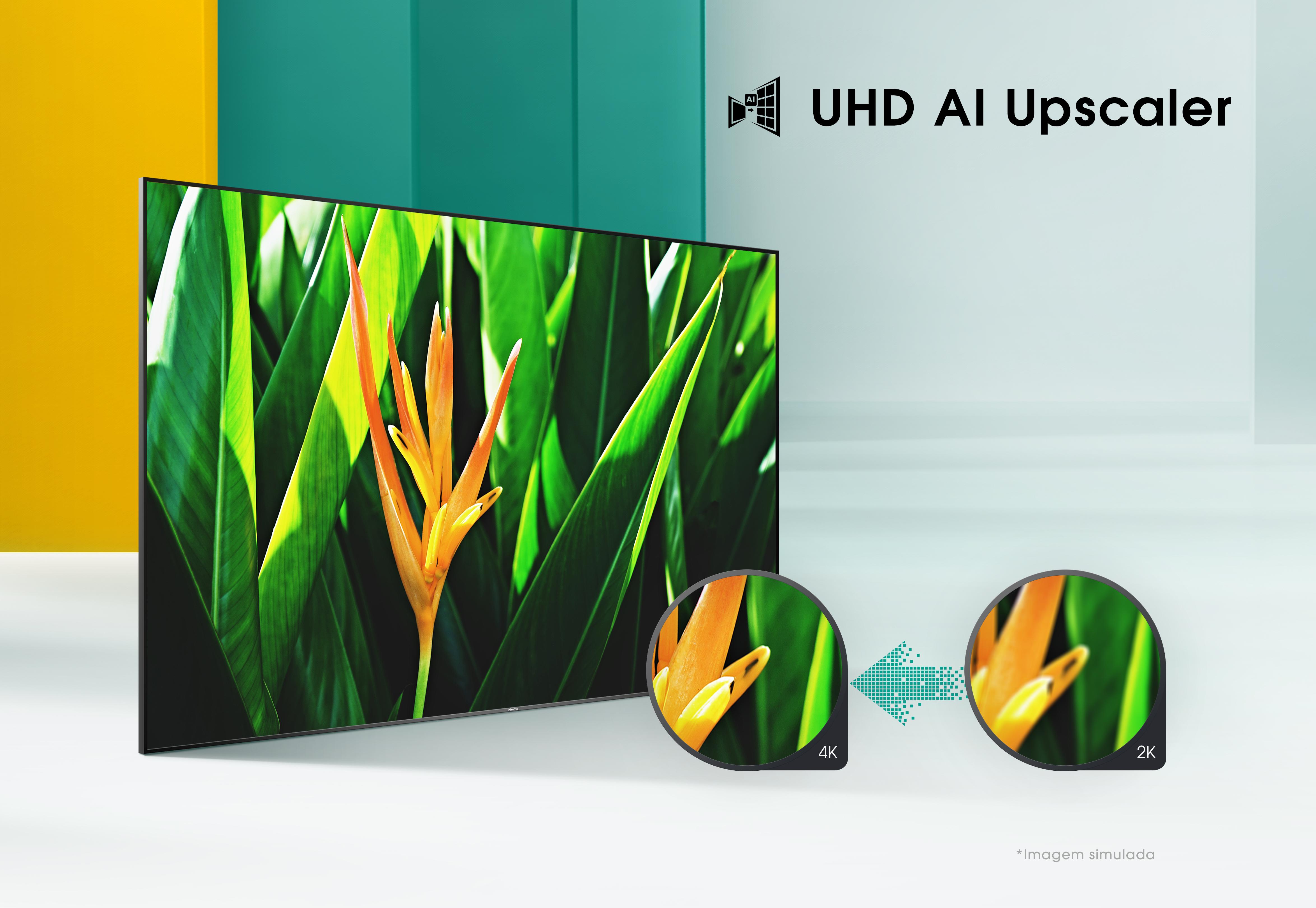 UHD TV 50A7500F 43″