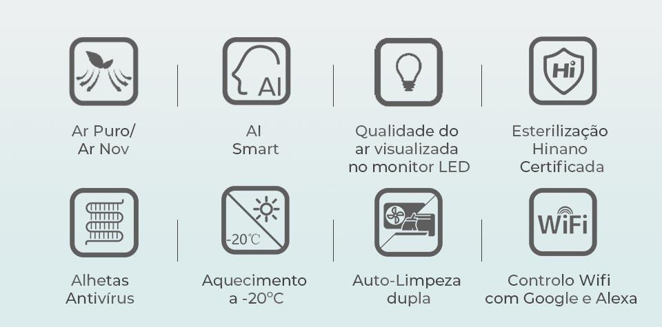 Ar Condicionado Fresh Master QF35XW00 – Hisense